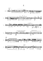 Movement to Movement for cello solo, 2nd movement